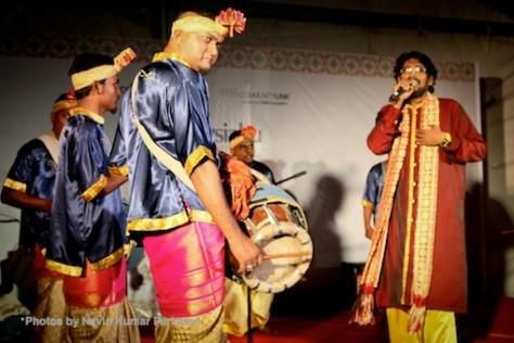 Kuda Kepang and Indian Drummers Malaysia Day Leornado's Jalan Bangkung 8