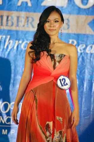 Miss Scuba Malaysia 2013 1st runner-up Allyson Liew