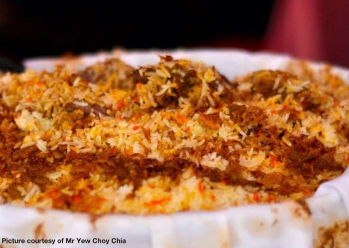 Nasi Briyani from Muar