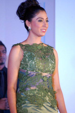 Second runner up Arveen Kaur