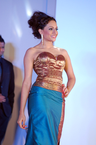 Second runner up Venagary Rajee.