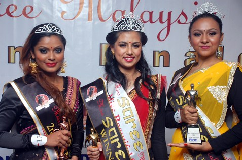 (From  left) Loginee Kularaja, Devia Haresh Kumar and Poonamjit Kaur