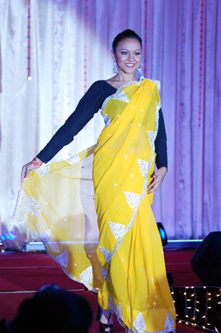 Miss Saree Malaysia 2013 first runner-up Poonamjit Kaur
