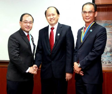 DG Chew and President Steven Pang -RC Kulai