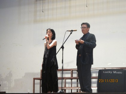 The Singapore duet with Careless Whisper