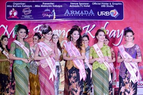 (L-R) Norita Bt Karim, Kueh Mei Fung, Maryanne Lee, Sophie Jenne Chua and Cherish Supang Matius