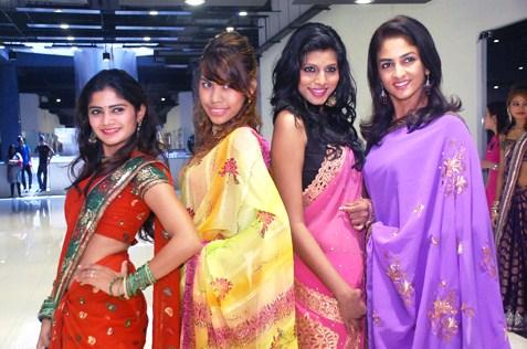 (L-R) Vanessa Cruez, Shalini Mathialagan, Davina Naidu & Asiah Bibi