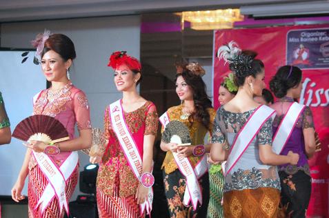 Miss Borneo Kebaya 2013 finalists