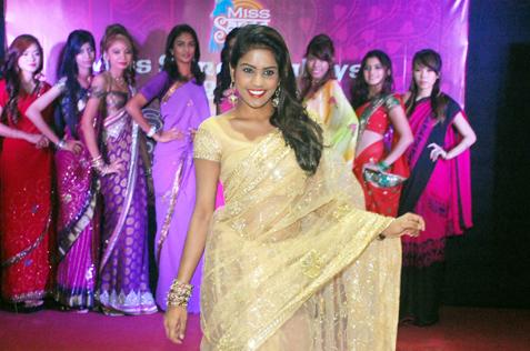 Miss Saree Malaysia 2013 finalist - R. Subhashini