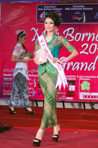 Norita Bt Karim - Miss Borneo Kebaya 2013 2nd runner-up