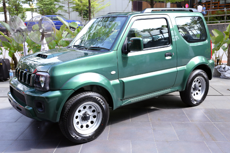 Suzuki Jimny prime ever green