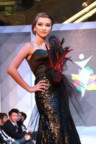 Female second runner up Kimberley Vermeer  Asia New Star Model 2014 FOM