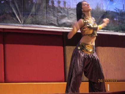 Sunita Kumari with the Snake Dance