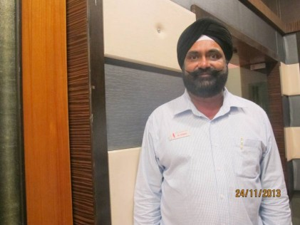 Mr Gurmakh Singh, the OC, has been involved with the Home for the past 24 years.