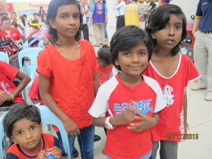 Thorga (10), Hema (8), Suguna (7) and Diviya (3) abandoned by their parents