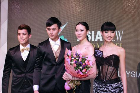 (L-R) Anthony Pang, Josh Yen, Coco Siew and Carmen Liew