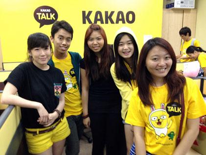 (L-R) Jocelyn Yu, Mohd Izuddin, Alexa Hiu, Natalie Chai and Bernadette Leong
