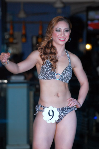 Liquido Miss Bikini 2013 first runner-up Gillian Benjamin