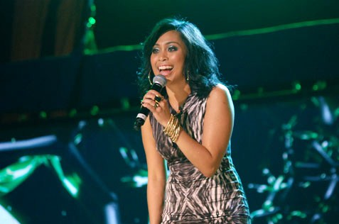 Dayang NurFaizah performing at 2014 countdown party @ Mutiara Damansara