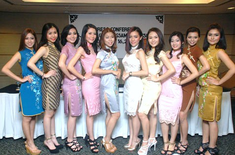 Miss Chipao Malaysia 2014 contestants during the press conference