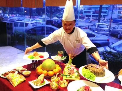 Utara Coffee House executive chef Chew Teik Chye