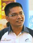 eCurve centre manager Azizul Hisham Ahmad