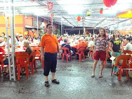 Cheras Flats Charity Nght pioneer member Josh Chua