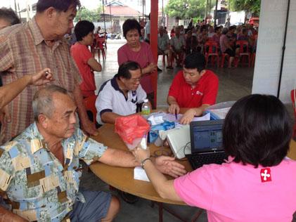 Free bone mineral density (BMD) test for senior citizens