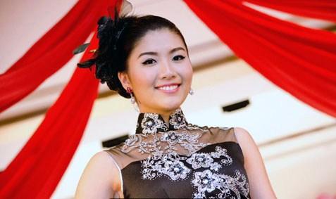Sandra Chong beams her radiant smile