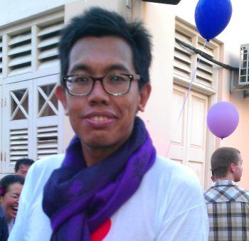 Social activist, Azrul Mohd Khalib from KL.