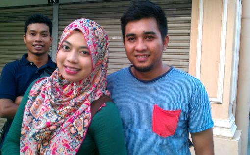 Farah and Hisyam
