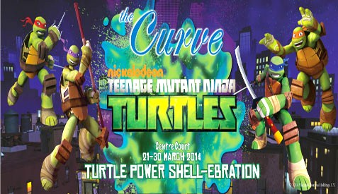 "The Curve brings four iconic characters from the all-time favourite cartoon, ""Teenage Mutant Ninja Turtles"", for the first time on stage in Malaysia"