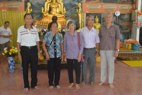 The Trustees of the temple,children of Ong Kim Lunn and Tan Yim Meo..