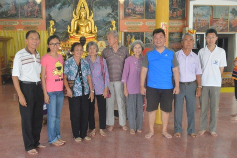 The descendants of Ong and Tan
