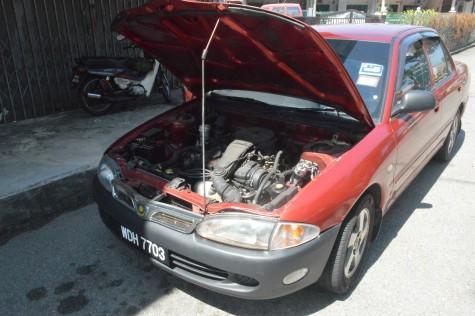 Thanabalan's car