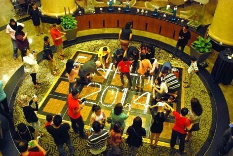 Hotel Armada PJ staff and guests participates in Earth Hour 2014
