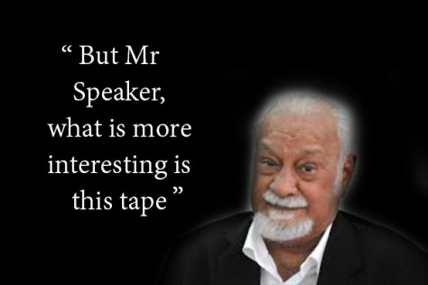 said Karpal before dumping the pornographic videotape to the unsuspecting Datuk Seri Ong Tee Keat