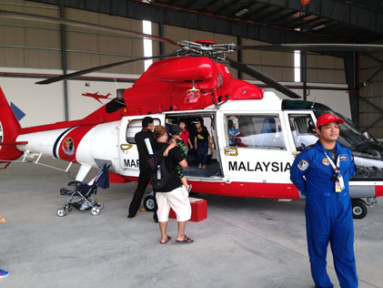 AS365 N3 Eurocopter helicopter by Malaysian Maritime Enforcement Agency