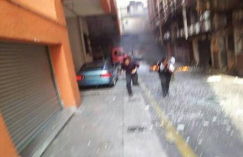 Cylinder Blast Rocked Klang Town 1