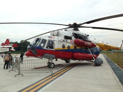 Mi-17 Bomba M994-02 helicopter