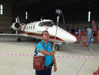 Mohd Zain at the 1st Subang International Air Carnival 2014