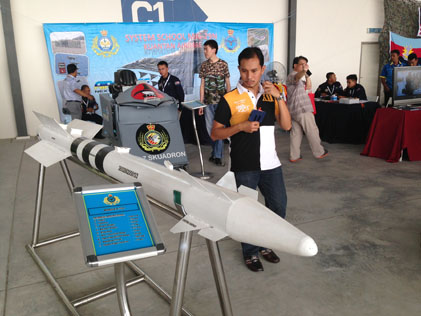 R-73E heat seeking missile used by Malaysian Air Force