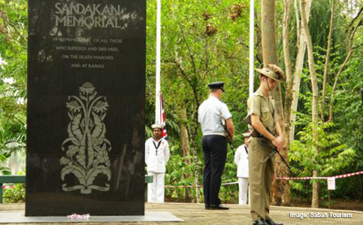 Sandakan Memorial-Day Australian Soldiers Pay Tribute Japanese Army Atrocities World War 2