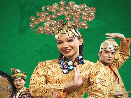 The 'Budaya Raya Dance Musical' is the highlight of the Curve's month-long Ramadhan festivities
