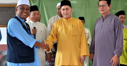 Adun kawasan Balung Datuk Syed Abas Syed Ali 1
