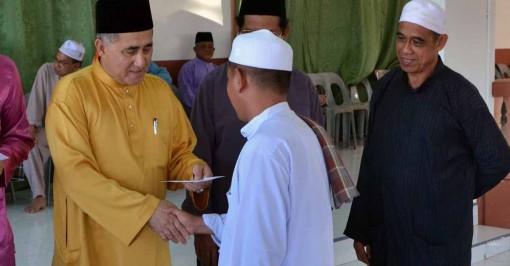 Adun kawasan Balung Datuk Syed Abas Syed Ali 2