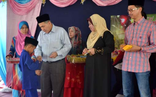 Ahli Dewan Undangan Negeri Balung Datuk Syed Abas Syed Ali 2