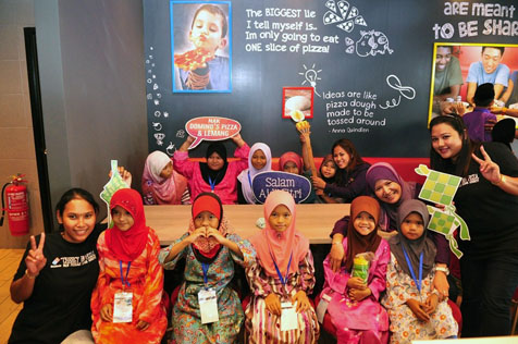 Domino's Pizza Malaysia host buka puasa for underprivileged children