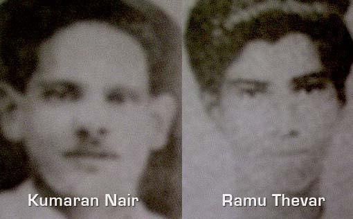 INA Kumaran Nair_INA Ramu Thevar