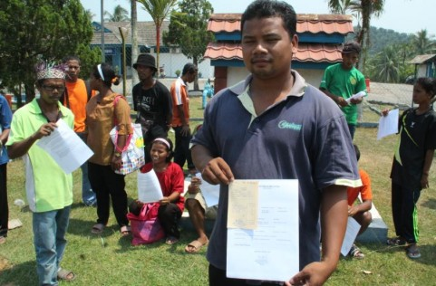 Jeffri Hassan pengerusi Jawatankuasa Bertindak Pembangunan Tanah Dan Wilayah Adat, Pos Lanai